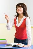 απασχολημένος δάσκαλο&sigm Στοκ εικόνες με δικαίωμα ελεύθερης χρήσης