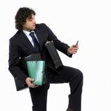 απασχολημένο άτομο στοκ φωτογραφία με δικαίωμα ελεύθερης χρήσης