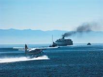 απασχολημένο λιμάνι Στοκ φωτογραφίες με δικαίωμα ελεύθερης χρήσης