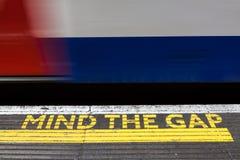Απασχολήστε τη Gap, Λονδίνο υπόγεια Στοκ φωτογραφία με δικαίωμα ελεύθερης χρήσης