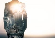 Απασχόληση και μελλοντική έννοια διανυσματική απεικόνιση