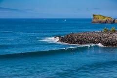 Απατεώνας Σάο ακτών στο νησί του Miguel Σάο Στοκ εικόνες με δικαίωμα ελεύθερης χρήσης