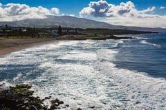 Απατεώνας Σάο ακτών στο νησί του Miguel Σάο Στοκ εικόνα με δικαίωμα ελεύθερης χρήσης