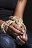 Απαχθείσες γυναίκες Στοκ φωτογραφία με δικαίωμα ελεύθερης χρήσης