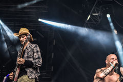 Απαλλαγή σε Hellfest 2016, στοκ φωτογραφίες
