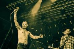 Απαλλαγή σε Hellfest 2016, στοκ εικόνα με δικαίωμα ελεύθερης χρήσης