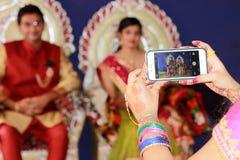 Απεικονίζοντας το ζεύγος - Ινδία Στοκ εικόνες με δικαίωμα ελεύθερης χρήσης