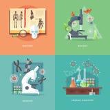 Απεικονίσεις έννοιας εκπαίδευσης και επιστήμης απεικόνιση αποθεμάτων
