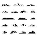 Απεικονίσεις βουνών Στοκ φωτογραφία με δικαίωμα ελεύθερης χρήσης