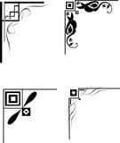 Απεικονίσεις γωνιών Στοκ φωτογραφία με δικαίωμα ελεύθερης χρήσης