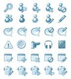 Απεικονίσεις εικονιδίων Στοκ εικόνα με δικαίωμα ελεύθερης χρήσης