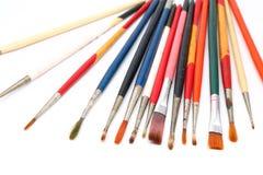 απεικονίσεις κατασκευής ελέγχου βουρτσών περισσότερο το χαρτοφυλάκιο χρωμάτων μου παρακαλώ Στοκ Φωτογραφία