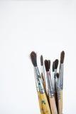 απεικονίσεις κατασκευής ελέγχου βουρτσών περισσότερο το χαρτοφυλάκιο χρωμάτων μου παρακαλώ Στοκ Φωτογραφίες