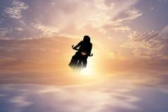 Απεικονίσεις μοτοσικλετών Στοκ Φωτογραφία