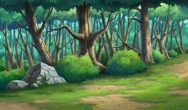 Απεικονίσεις χρωμάτων άγριος και φυσικός απεικόνιση αποθεμάτων