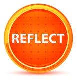 Απεικονίστε το φυσικό πορτοκαλί στρογγυλό κουμπί διανυσματική απεικόνιση