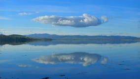 απεικονισμένη σύννεφο θάλ Στοκ Εικόνες