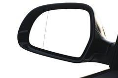 Απεικονισμένος στον οπισθοσκόπο καθρέφτη στοκ φωτογραφία με δικαίωμα ελεύθερης χρήσης