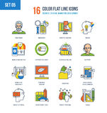 Απεικόνιση έννοιας της επιχείρησης, δημιουργικός, του μάρκετινγκ, της ανάπτυξης, του σχεδίου και των εργαλείων απεικόνιση αποθεμάτων