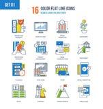 Απεικόνιση έννοιας της επιχείρησης, μάρκετινγκ, επένδυση απεικόνιση αποθεμάτων