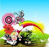 απεικόνιση αναδρομική Στοκ φωτογραφία με δικαίωμα ελεύθερης χρήσης