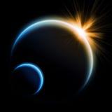 Απεικόνιση αποκάλυψης Eart πλανητών ελεύθερη απεικόνιση δικαιώματος