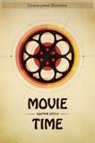 Απεικόνιση αφισών κινηματογράφων Στοκ φωτογραφία με δικαίωμα ελεύθερης χρήσης