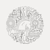 Απεικόνιση αλόγων ελεύθερη απεικόνιση δικαιώματος