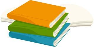 απεικόνιση βιβλίων Στοκ εικόνες με δικαίωμα ελεύθερης χρήσης