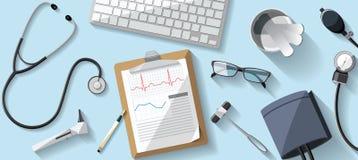 Απεικόνιση γιατρών γραφείων Στοκ φωτογραφία με δικαίωμα ελεύθερης χρήσης