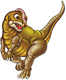 απεικόνιση δεινοσαύρων Στοκ Φωτογραφία