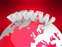 απεικόνιση Διαδίκτυο Στοκ εικόνα με δικαίωμα ελεύθερης χρήσης