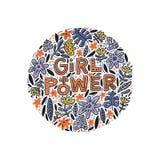 Απεικόνιση δύναμης κοριτσιών Στοκ Φωτογραφία