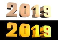 απεικόνιση δ 2019 τολμηρή επιστολών r στοκ φωτογραφία