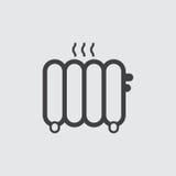 Απεικόνιση εικονιδίων θερμαντικών σωμάτων Στοκ Φωτογραφίες