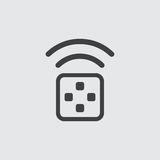 Απεικόνιση εικονιδίων συσκευών αποστολής σημάτων Στοκ Φωτογραφίες