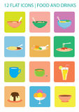 απεικόνιση εικονιδίων τροφίμων σχεδίου διανυσματική εσείς Στοκ φωτογραφίες με δικαίωμα ελεύθερης χρήσης