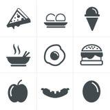 απεικόνιση εικονιδίων τροφίμων σχεδίου διανυσματική εσείς Στοκ εικόνα με δικαίωμα ελεύθερης χρήσης