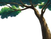 Απεικόνιση ενός δέντρου Στοκ εικόνες με δικαίωμα ελεύθερης χρήσης