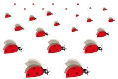 Απεικόνιση ενός ladybug Στοκ εικόνες με δικαίωμα ελεύθερης χρήσης