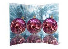 Απεικόνιση καρτών Χριστουγέννων Στοκ εικόνα με δικαίωμα ελεύθερης χρήσης