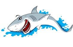 Απεικόνιση καρχαριών κινδύνου Στοκ εικόνες με δικαίωμα ελεύθερης χρήσης