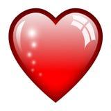 Απεικόνιση καρδιών Στοκ εικόνα με δικαίωμα ελεύθερης χρήσης