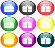 απεικόνιση κουμπιών Στοκ Εικόνα