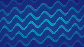 Απεικόνιση κυμάτων διανυσματική απεικόνιση
