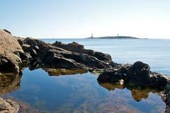 απεικόνιση λιμνών Στοκ Εικόνα