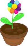 απεικόνιση λουλουδιών χρώματος Στοκ Εικόνα