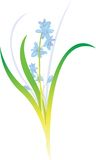 απεικόνιση λουλουδιών Στοκ εικόνα με δικαίωμα ελεύθερης χρήσης