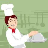 Αρχιμάγειρας, απεικόνιση Στοκ Φωτογραφίες