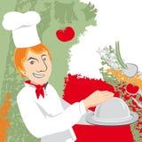 Αρχιμάγειρας, απεικόνιση Στοκ Εικόνα